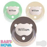 Baby Nova, rond, silicone, taille 2