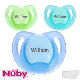 Nûby Teardrop, orthodontisch, silicone, taille 2