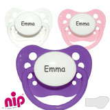 NIP, orthodontique, silicone, taille 1