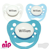 NIP, orthodontique, silicone, taille 2