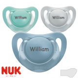 NUK, orthodontique, silicone, taille 2