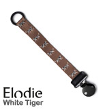 Attache-tétine Elodie Details, White Tiger