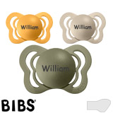 BIBS Couture, orthodontique, silicone, 0-6 mois (taille 1)